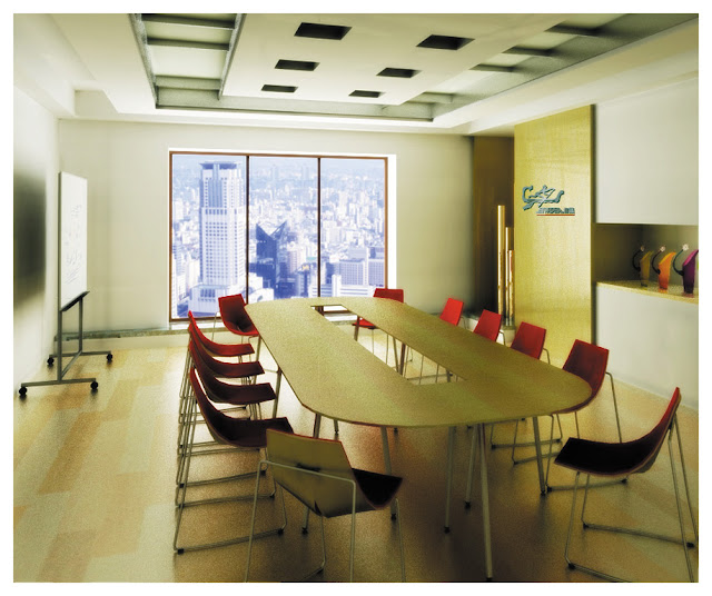 Office-meeting-room-for-a-formal-conference-by-magazine