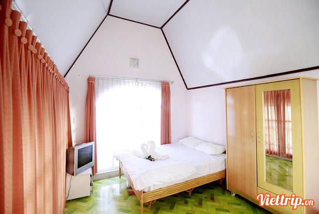 Phòng ngủ tại Rose villa - pasteur villa đà lạt