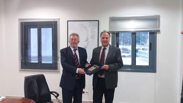 Συνάντηση Προέδρου Ο.Λ.ΗΓ. κ. Ανδρέα Νταή με τον Πρέσβη της Κροατίας κ. Aleksandar Sunko