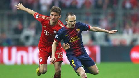 Barca đã chiến thắng Bayern Munich tiến tới trận chung kết Champions League.