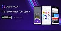 Opera Touch, il browser che collega PC e cellulare e si usa con una mano