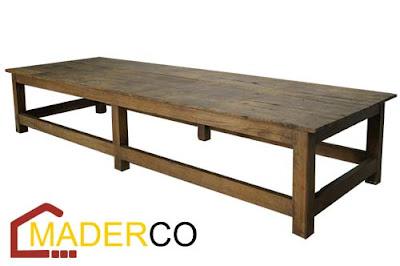 Como Hacer Una Mesa De Madera Para Comedor. Mesa Para Comedor Modelo ...