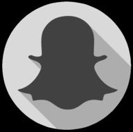 snapchat whiteout icon