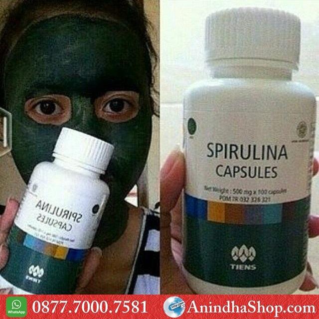Masker Spirulina Bandung