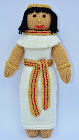 Egyptian Doll Knitting Pattern