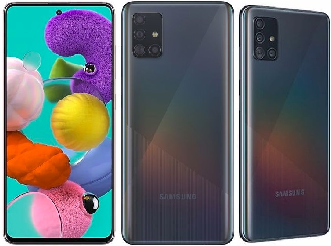 Samsung Galaxy A51: 128GB 8Core Android 10 Smartphone - 6.5Inch 5Cam Dual SIM Phone with 4000mAh Battery