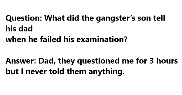 gangster funny sayings