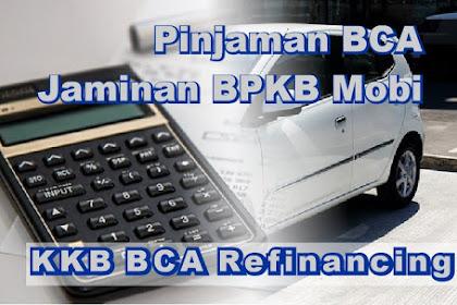 Pinjaman Bank BCA dengan Jaminan BPKB Mobil