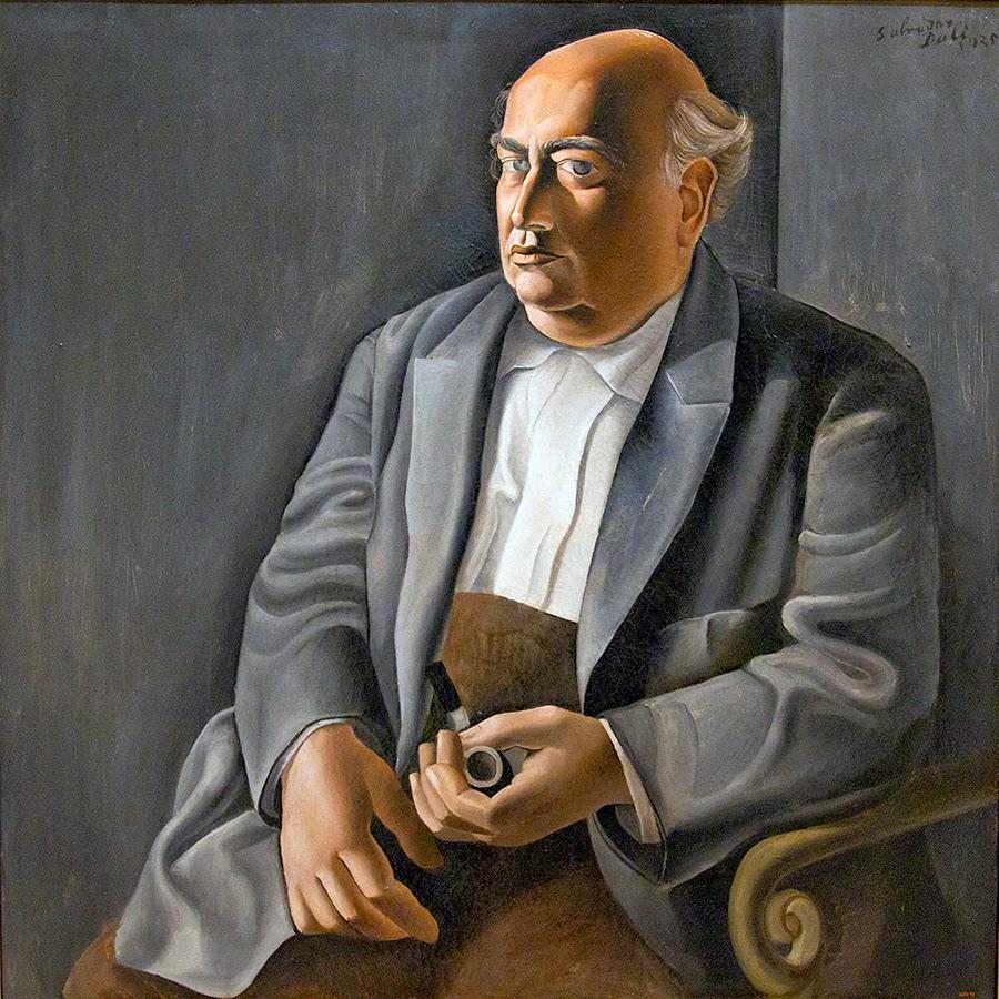 Salvador Dalí, Retrato de mi padre (1925), MNAC, Barcelona