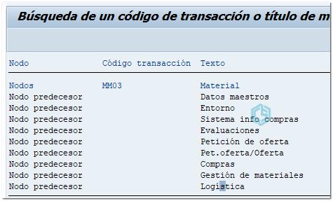 Como usar transacción search_sap_menu - Consultoria-SAP