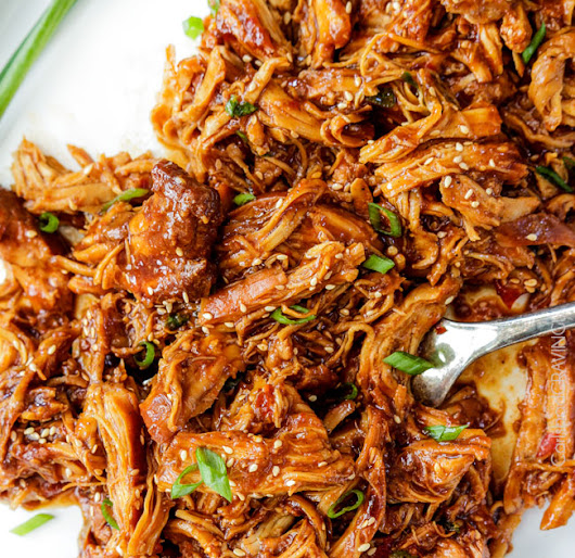 Asian Shredded Chicken