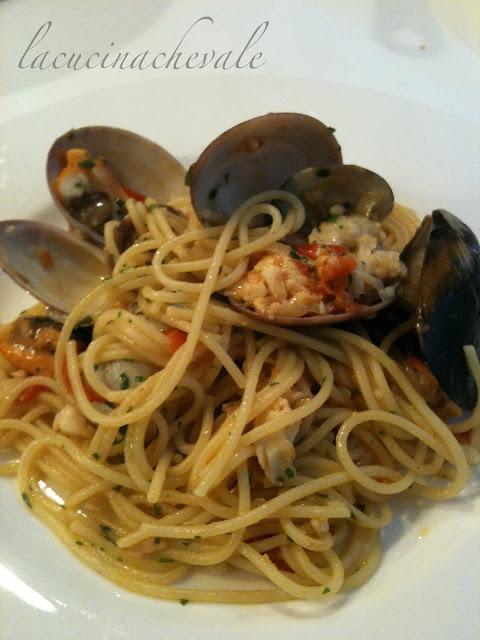 Gli spaghetti ai frutti di mare di casa mia
