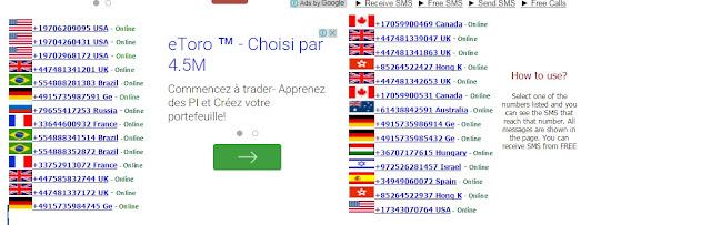 إليك أفضل 3 مواقع للحصول على أرقام هواتف أجنبية