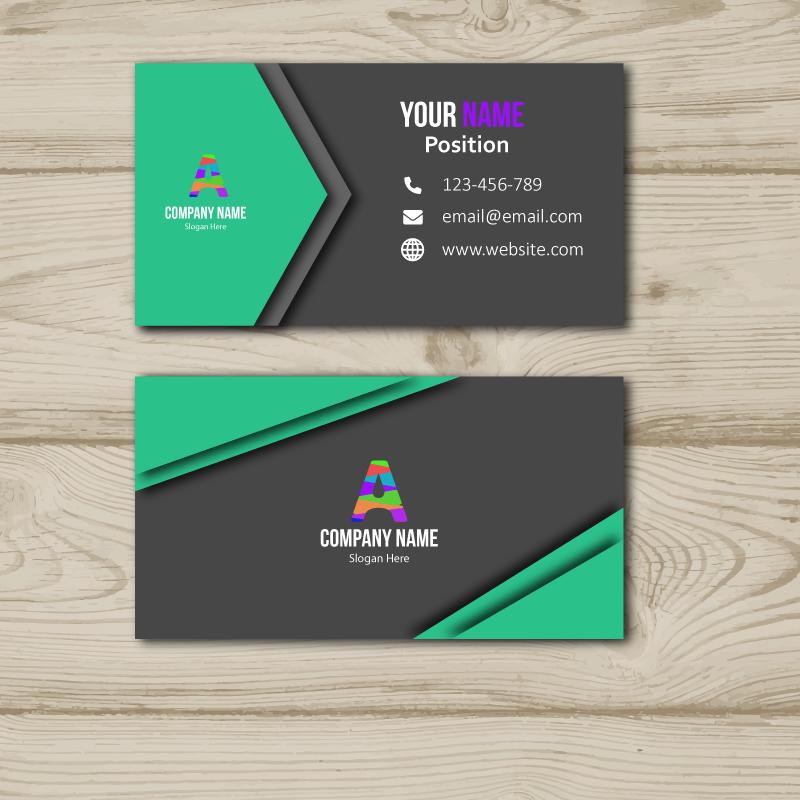 Jasa Pembuatan Mockup: Business Card Portofolio