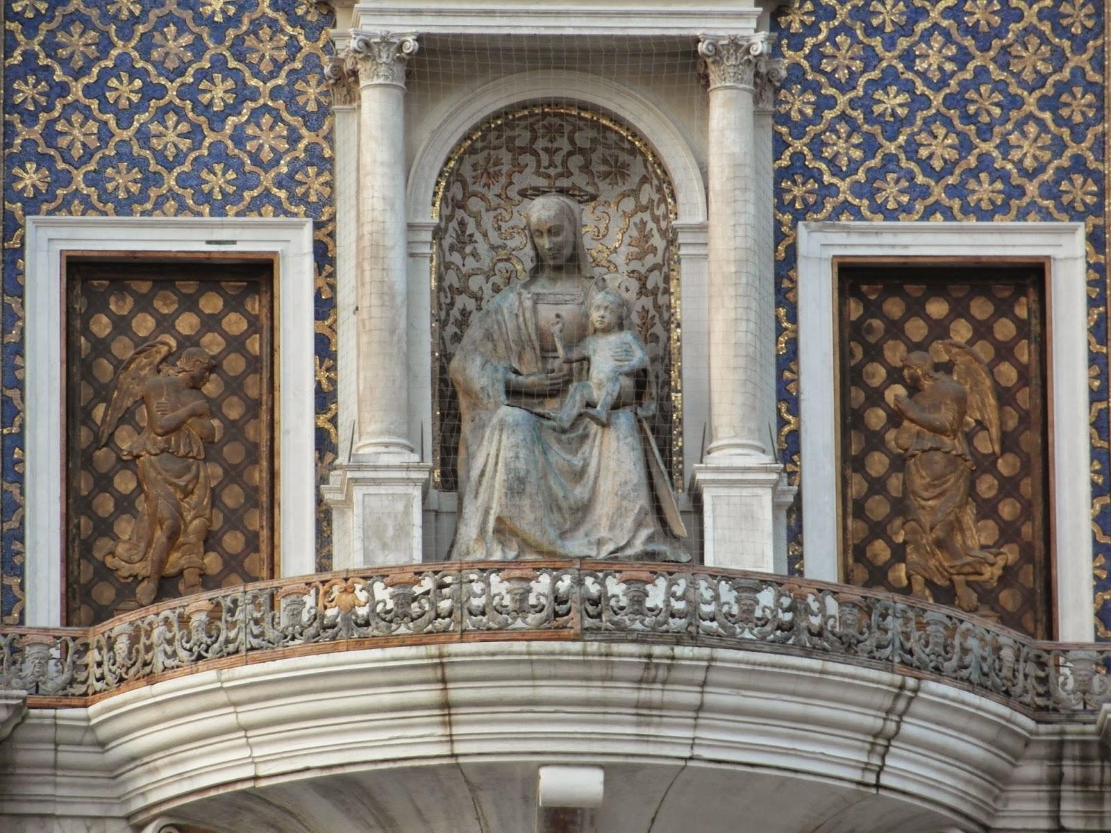 Madonna and Child, Torre dell'Orologio, Venice