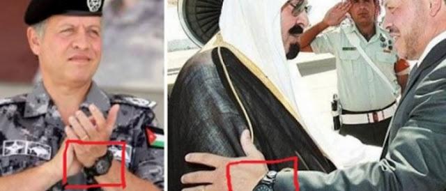 السر وراء أرتداء ملك الأردن الدائم لهذه الساعة في جميع المرات التي يظهر فيها لن تصدقوا السبب !!