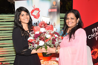 Megha Akash at The launch of The Red Box   Soups and Momos March 2017 012.JPG