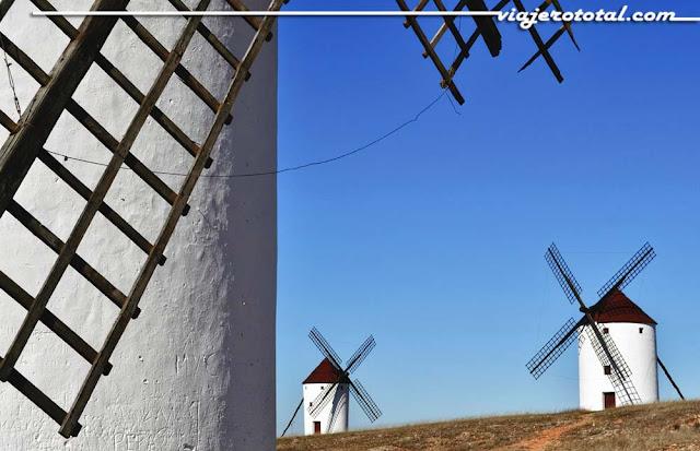 Molinos de viento en Cuenca, Castilla la Mancha
