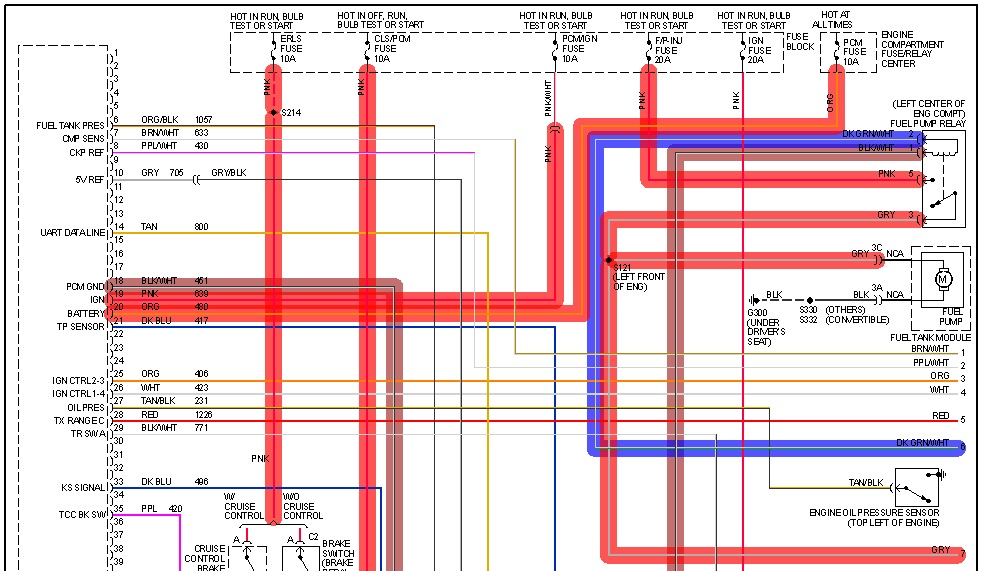 fuel injector wire diagram