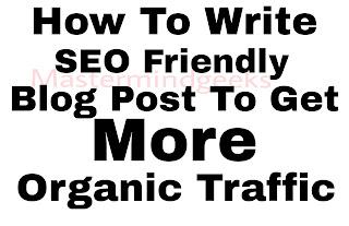 friendly blog post