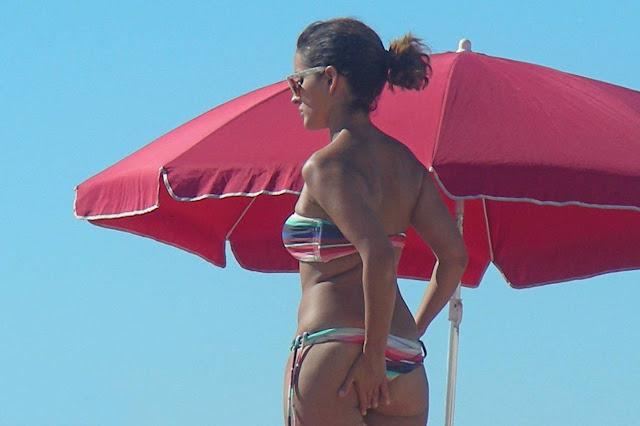 Inma Cuesta en bikini