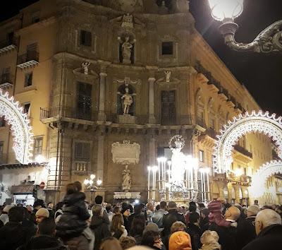 Palermo w zimie - Sycylia grudzień