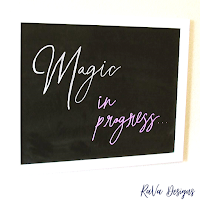 loddie doddie white magnetic chalkboard magic quote ideas