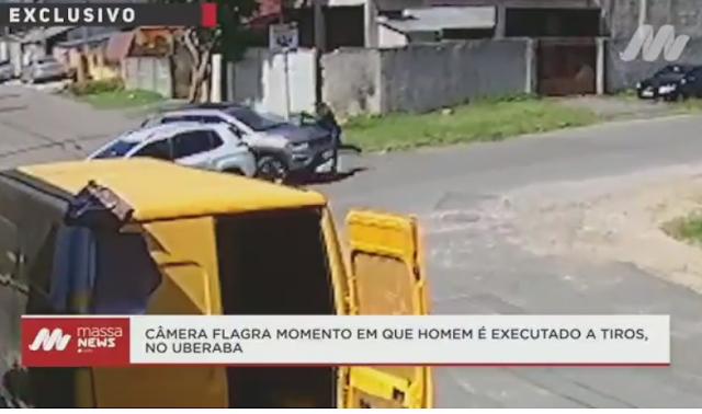 BORRAZÓPOLIS - CURITIBA EX  MORADOR É EXECULTADO