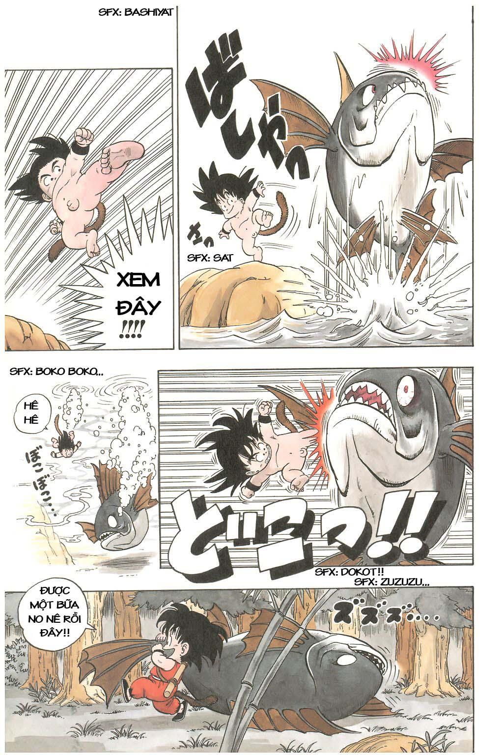 7 Viên Ngọc Rồng - Dragon Ball chap 1 Buruma và Son Gokuu | Truyện tranh  online | truyen tranh hay | đọc truyện tranh hay | truyện đẹp | truyện hot