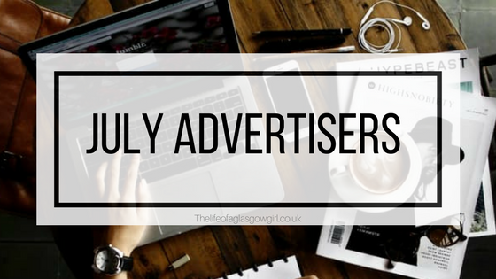 July Advertisers