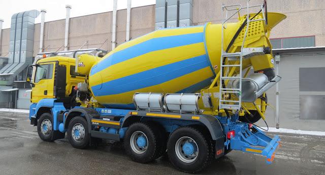 kegunaan truck mixer