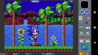 Aplikasi Android Untuk membuat animasi Pixel Animation Studio GIF