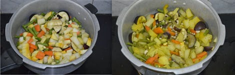 mixed vegetable kootu
