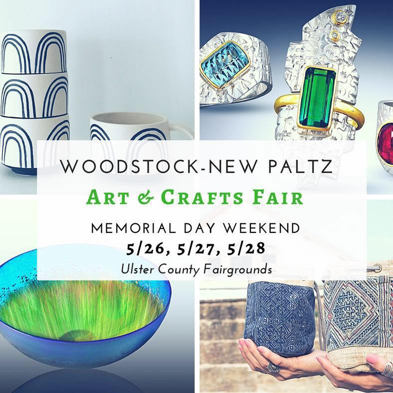New Paltz Craft Fair Memorial Day Weekend