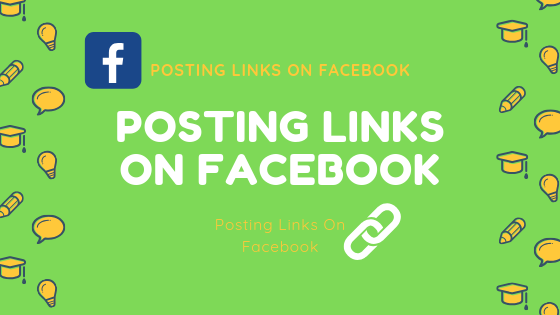 Posting Links On Facebook