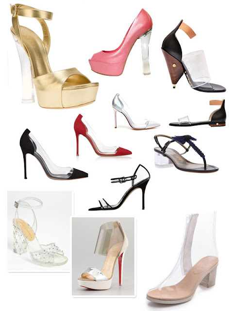Spring Trend 2013 - Transparency - Shoes