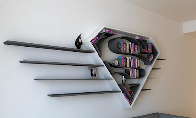 Superman Bookshelf