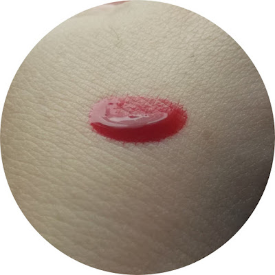 tony moly delight tint cherry pink review swatch