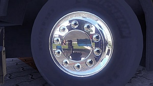 Chrome wheels by ETS2 Troll