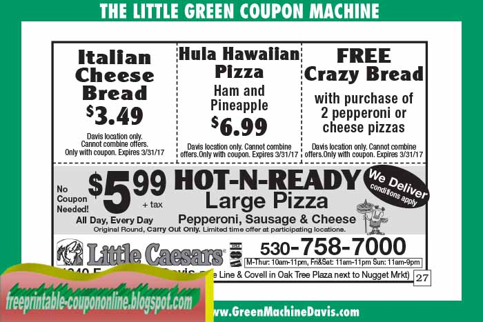 picture about Little Caesars Printable Coupons identified as Small caesars 1.99 ridiculous bread coupon - Southwest airways