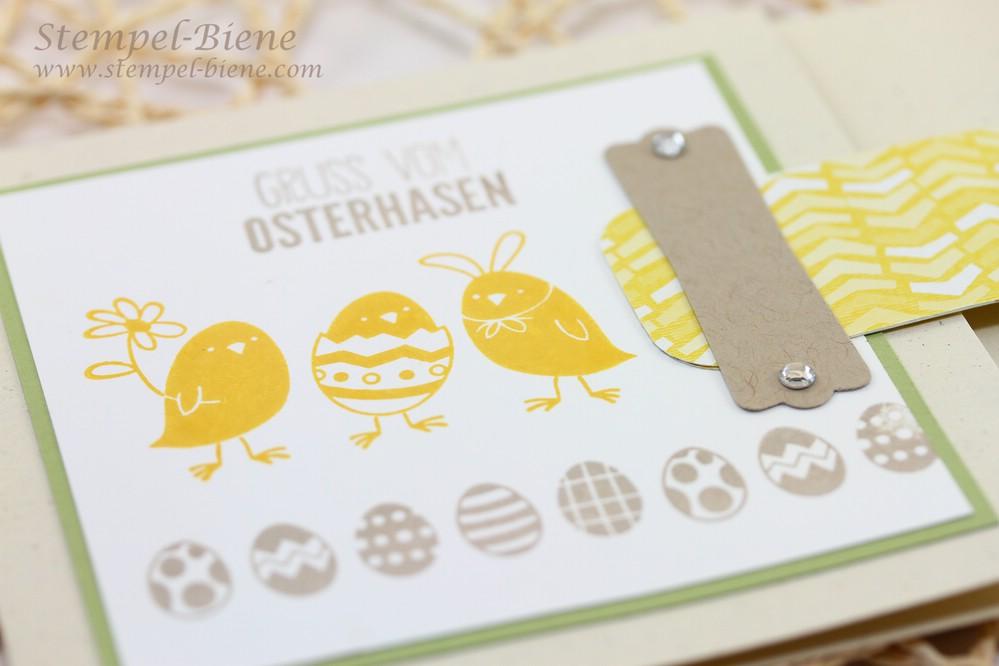Stampin Up Osterkarte, Stampin up Ei, ei,ei, Laschenkarte, Match the Sketch, Stampin Up Artikel bestellen, Vorteile Stampin up Demonstrator, Angebote der Woche