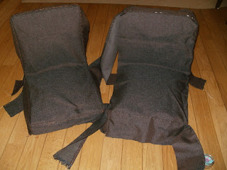renowacja krzesła aga krok po kroku