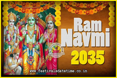 2035 Ram Navami Pooja Date & Time, 2035 Ram Navami Calendar