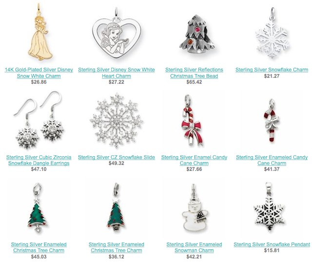 Christmas Jewelry Items