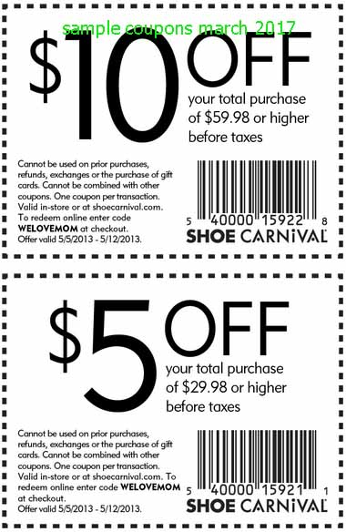 image relating to Shoe Carnival Coupon Printable titled Printable Discount codes 2019: Shoe Carnival Coupon codes