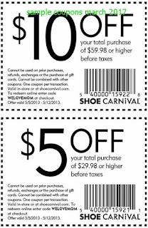 free Shoe Carnival coupons for march 2017