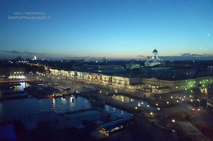 finnair skywheel maailmanpyörä katajanokka helsinki suomi finland tuomiokirkko