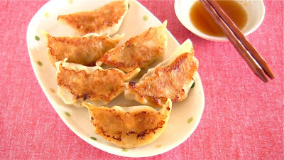 Gyoza is originally a Chinese dish, but it is very popular in Japan :)