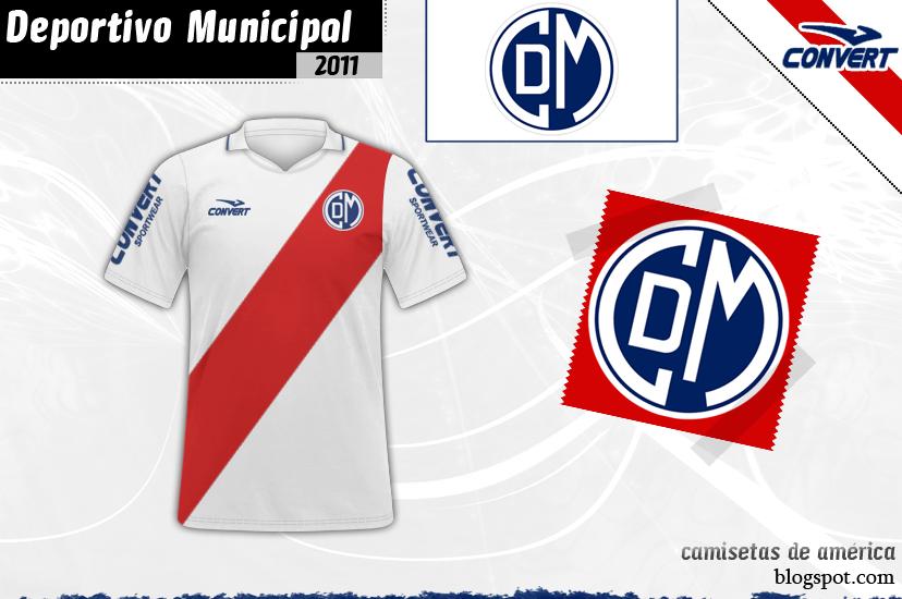Camisetas De Deportivo America Municipal