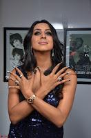 Sanjana looks happy in sparkling short Deep neck Purple Gown ~  Exclusive 52.JPG